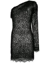 Faith Connexion - Lace One Shoulder Mini Dress - Lyst
