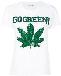P.A.R.O.S.H. - Go Green T-shirt - Lyst