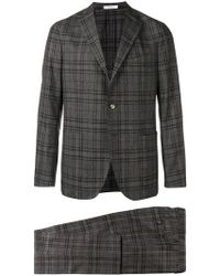 Boglioli - Checked Two-piece Suit - Lyst