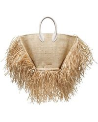 Jacquemus - Le Baci Straw Basket Bag - Lyst