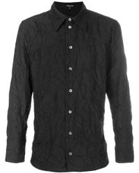 Ann Demeulemeester - Creased Long Sleeve Shirt - Lyst