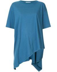 Vika Gazinskaya - Asymmetric T-shirt - Lyst