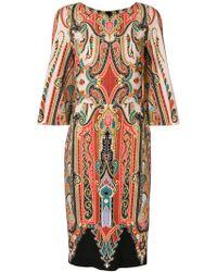 Etro - Patterned Pencil Dress - Lyst