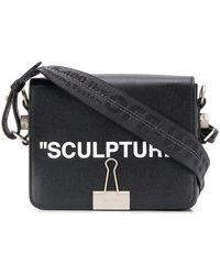 Off-White c/o Virgil Abloh - 'sculpture' Clip Detail Shoulder Bag - Lyst