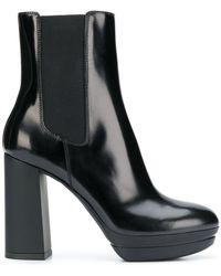 Hogan - High Heel Ankle Boots - Lyst