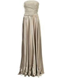 Ralph Lauren Collection - Long Belted Dress - Lyst