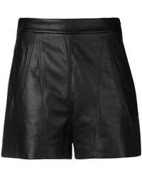 Neil Barrett - Stitched Panel Shorts - Lyst