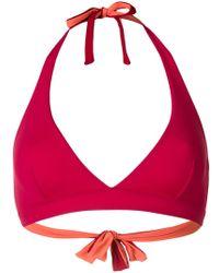 Fisico - Triangle Bikini Top - Lyst