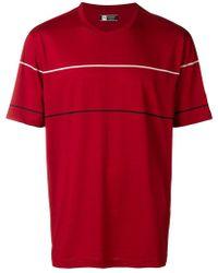 Z Zegna - Techmerino Striped T-shirt - Lyst