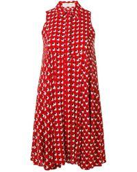 L'Autre Chose - Printed Shirt Dress - Lyst