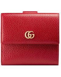 Gucci - French Flap Wallet - Lyst