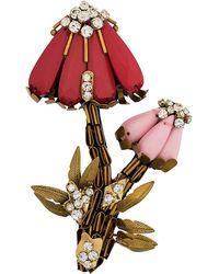N°21 - Floral Brooch - Lyst