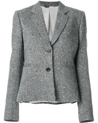 PS by Paul Smith - Fitted Embroidered Blazer - Lyst