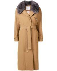 Giada Benincasa - Belted Coat - Lyst