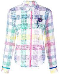 Mira Mikati Check Print Shirt