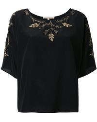 Vanessa Bruno | Floral Embroidery Blouse | Lyst