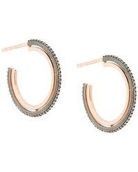 Astley Clarke - Small Icon Hoop Earrings - Lyst