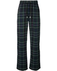 Blood Brother - Plaid Track Pants - Lyst