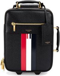 Thom Browne - Striped Luggage Bag - Lyst