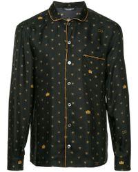 Dolce & Gabbana - Logo Embroidered Shirt - Lyst