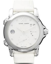 Ulysse Nardin - Classic Dual Time Lady 37mm - Lyst
