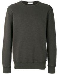 Jil Sander - Distressed Finish Sweatshirt - Lyst