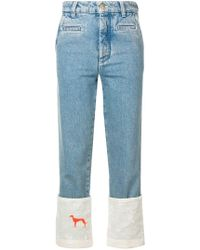 Loewe - High-waisted Jeans - Lyst