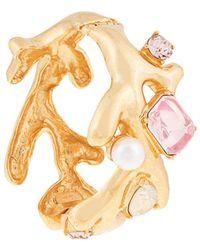 Oscar de la Renta - Embellished Branch Bracelet - Lyst