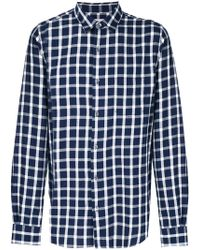 Closed - Checked Shirt - Lyst