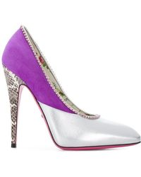 Gucci - Two-tone Court Shoes - Lyst