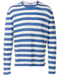 Ermanno Scervino - Striped Longsleeveled Jumper - Lyst