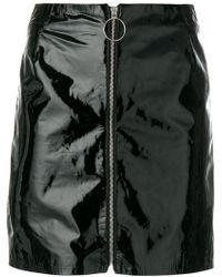 Manokhi - Zipped Straight Skirt - Lyst