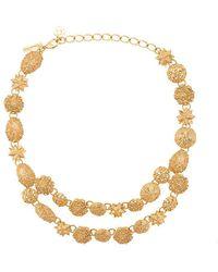 Oscar de la Renta - Sea Charm Necklace - Lyst