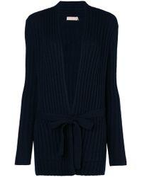 Tory Burch - Lynn Ribbed-knit Cardigan - Lyst