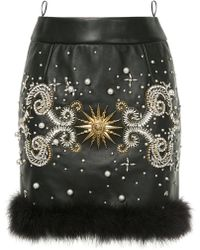 Fausto Puglisi - Jeweled Mini Skirt - Lyst