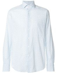 Glanshirt - Slim-fit Cotton Blend Shirt - Lyst