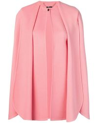 Alexander McQueen - Pleated Cape - Lyst