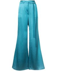 Hellessy - Plain Flared Trousers - Lyst