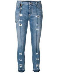 Ermanno Scervino | Distressed Skinny Jeans | Lyst