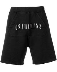 DSquared² - Shorts mit Logo - Lyst