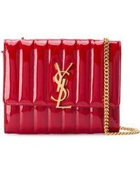 Saint Laurent - Vicky Medium Shoulder Bag - Lyst