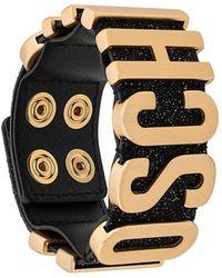 Moschino Logo Strap Bracelet