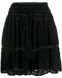 Laneus - Full Mini Skirt - Lyst