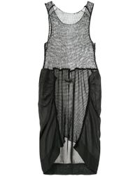 Uma Wang - Panelled Knit Dress - Lyst