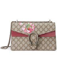 443b311fb209 Gucci Dionysus Small GG Blooms Shoulder Bag - Save 6% - Lyst