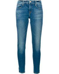 FRAME - Le Garcon Slim Boyfriend Jeans - Lyst