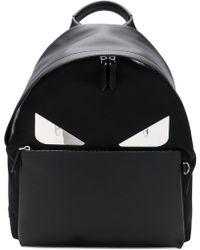 03818b6a8062 Lyst - Fendi Bag Bugs Backpack in Black for Men