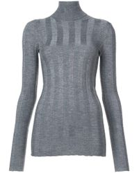 Derek Lam - Ribbed Long Sleeved Turtleneck - Lyst