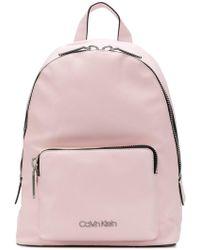 Calvin Klein - Branded Backpack - Lyst