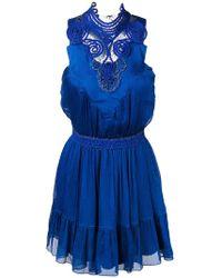 Genny - Short Halterneck Dress - Lyst